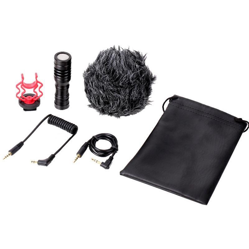 SLR Camera вариомикрофон CY01 DSLR микрофон Запись для цифровой зеркальной фотографии видеоблоге