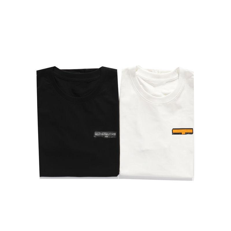 Fashion Stylist Mens T Shirts Hight Quality Letters Tshirts 2021 Men Women Couple Short Sleeve Tee