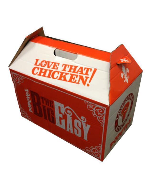 OEM DIY Прямоугольник оптового логотип складного Takeout Box Paper Food Catering Box Упаковка