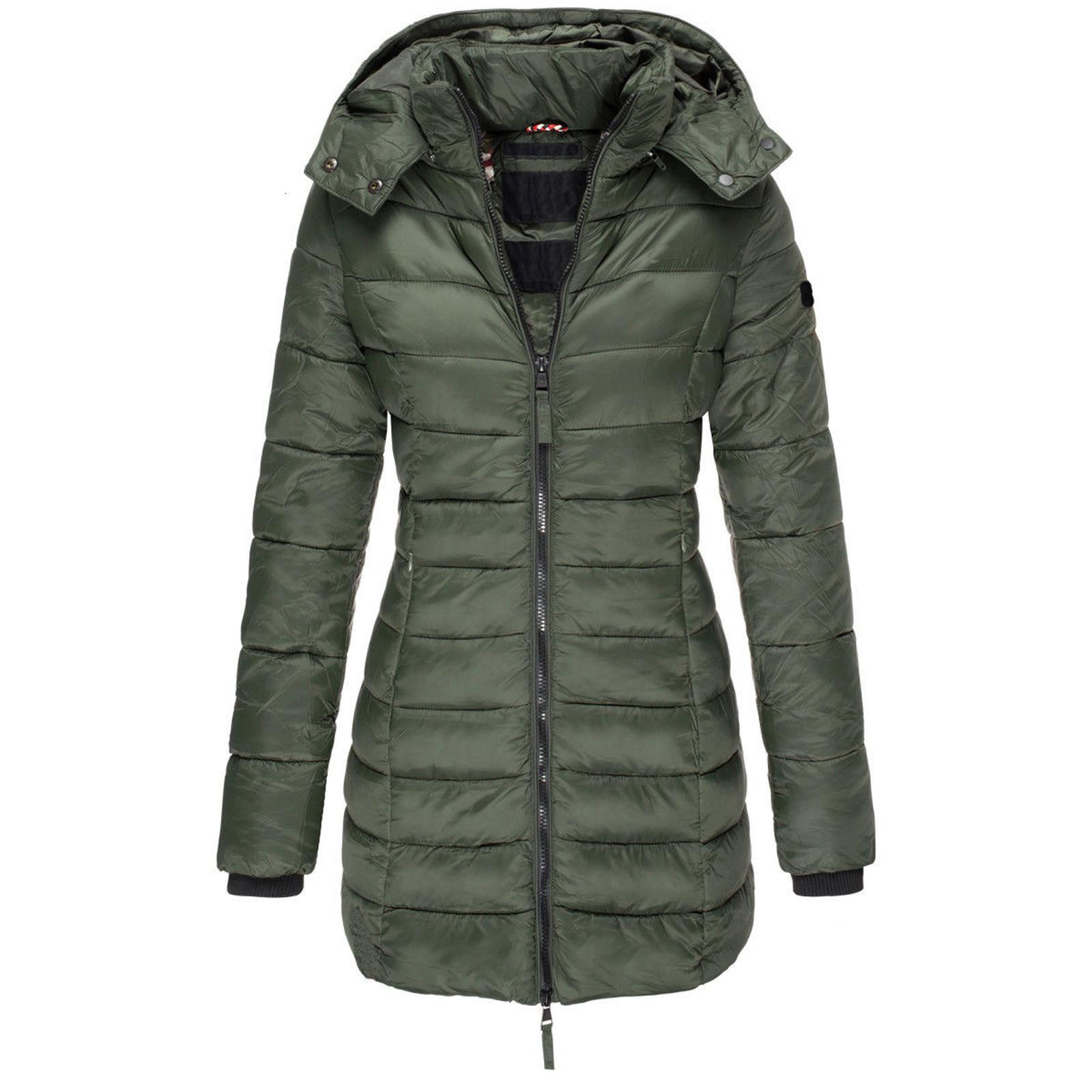 2020 Frauen Winter Donjackets Jacken Ultra Lange Heiße Pufferjacke Mit Kapuze Park Damen Kleidung