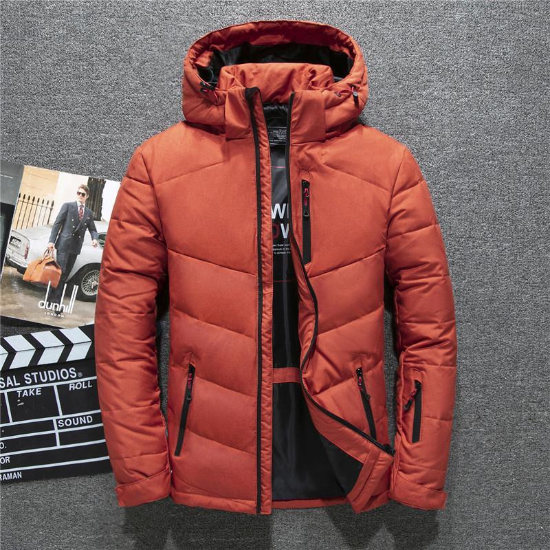 Nouveau Veste Hiver Homme élégant Manteau Homme Vêtements Marque vêtements pour hommes épais chauds Manteaux 8187