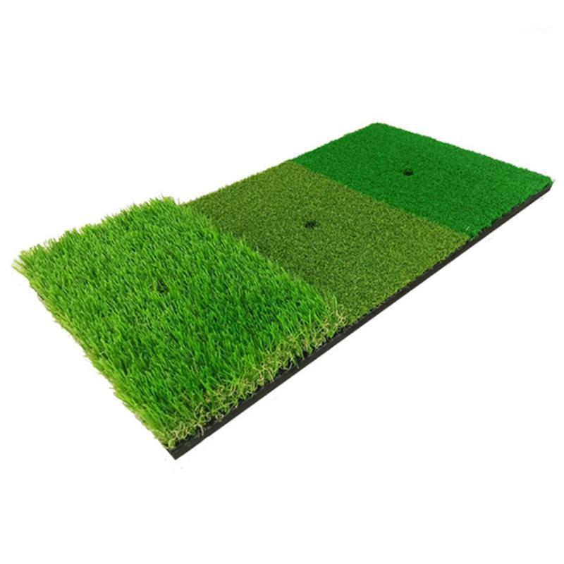 Capacitación de golf Ayudas práctica Matra artificial Césped Hierba Cojín de goma Patio trasero al aire libre Golf Matting Mat Durable Entrenamiento Pad 2020 New1 New1