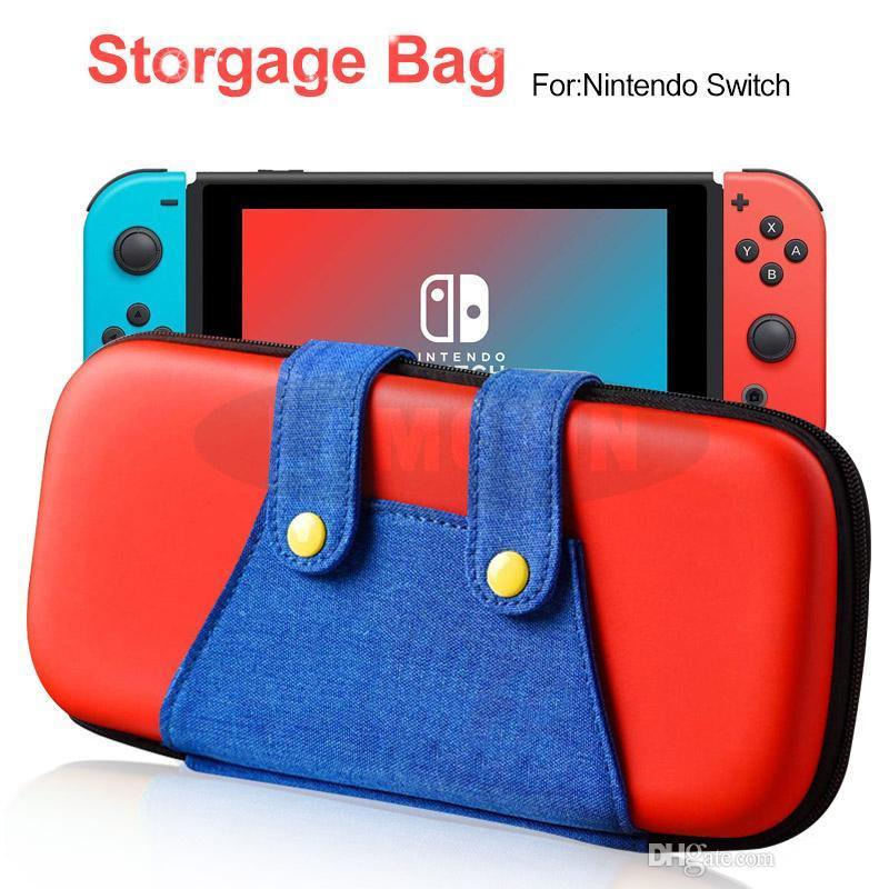 Für Nintendo Switch Console Case Durable Game Card Aufbewahrungstasche Tragetasche Hart EVA Bag Shell Tragbare Tragetasche Schutzbeutel MQ20