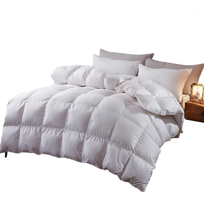 Colcha de cálido grueso Color sólido Multi-size edredón acondicionador de aire acondicionado y primavera hotel otoño hogar1