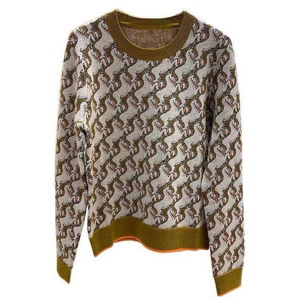 Nova camisola de malha com xadrez mulheres mulheres suéteres 2020 outono moda impressão padrão casual senhora casacos inverno roupas