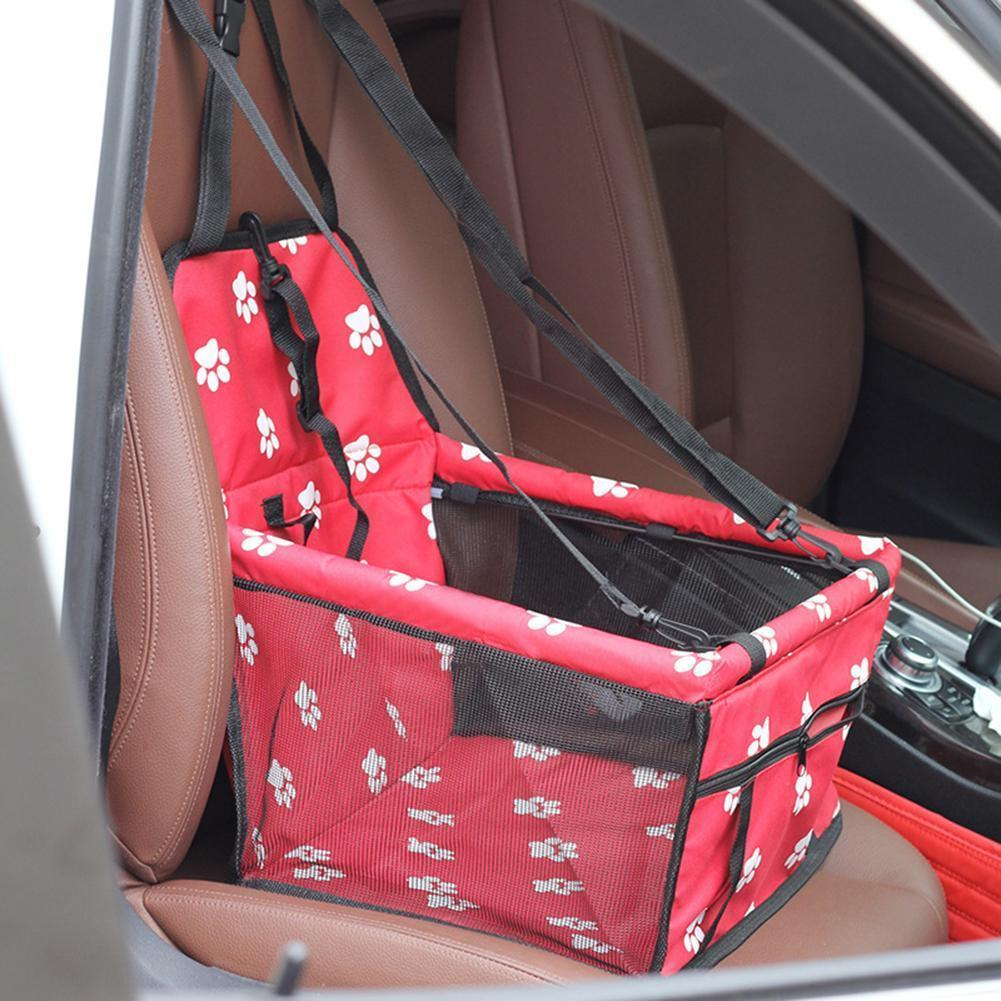 جرو حاملة الكلب حصيرة سلة تنفس ماء قفص الداعم سيارة مقعد حقيبة الحيوانات الأليفة المنتجات LJ200918