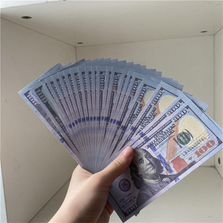 Copia la qualità all'ingrosso pezzi / pacchetto Valuta U.S. Valuta 100 Party High Shipment Factory Puntelli 100-5 TQXJ METIUD