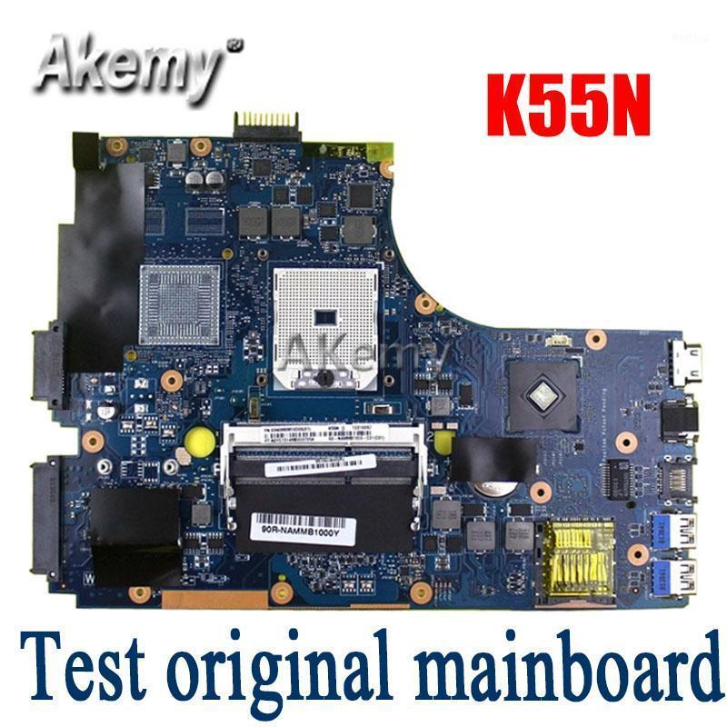 Amazoon K55N Laptop motherboard For Asus K55N K55DE K55DR K55D K55 Test original mainboard1