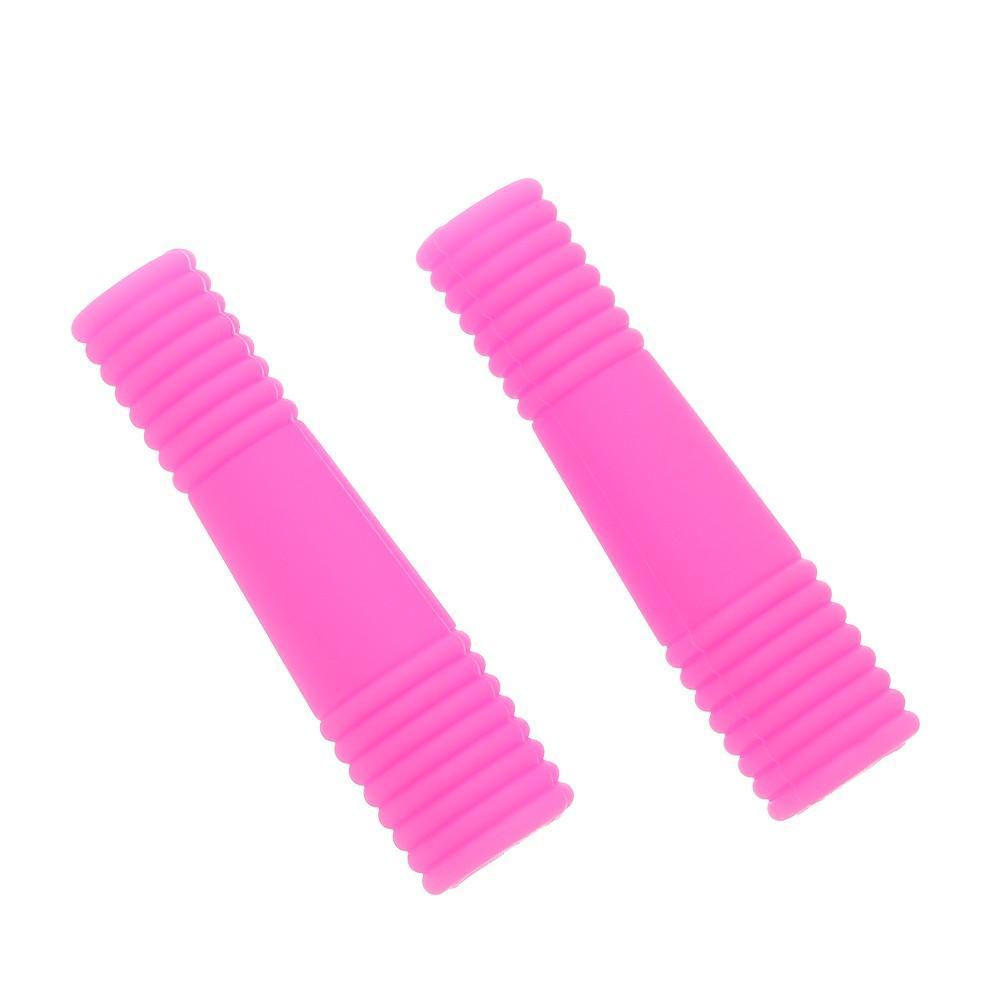 2pcs / lot housse housse manche de protection pour ciseaux à ongles Ciseaux manucure outils de pédicure kit ciseaux morts peau ciseaux