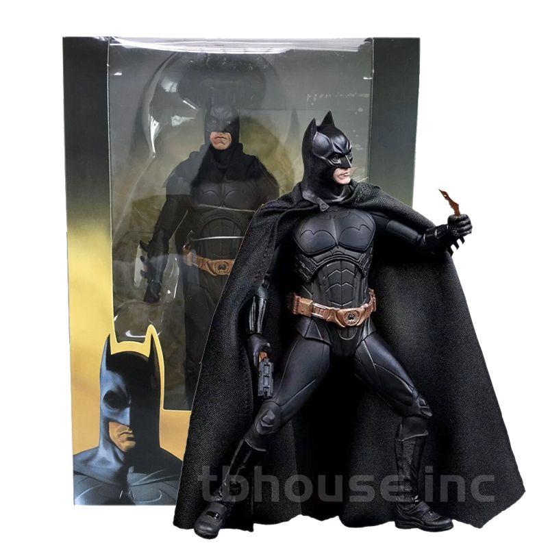 باتمان يبدأ بروس رجاء العمل Waynean PVC الشكل لعبة الدمية هدية عيد الميلاد للأطفال