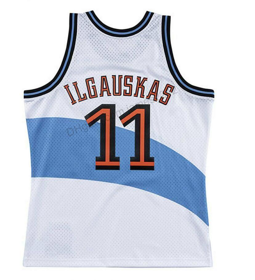 Benutzerdefinierte # 11 Zydrunas Ilgauskas Basketball Jersey Männer Alle genähten Weiß Jede Größe 2xs-4XL 5XL Name oder Nummer Top Qualität