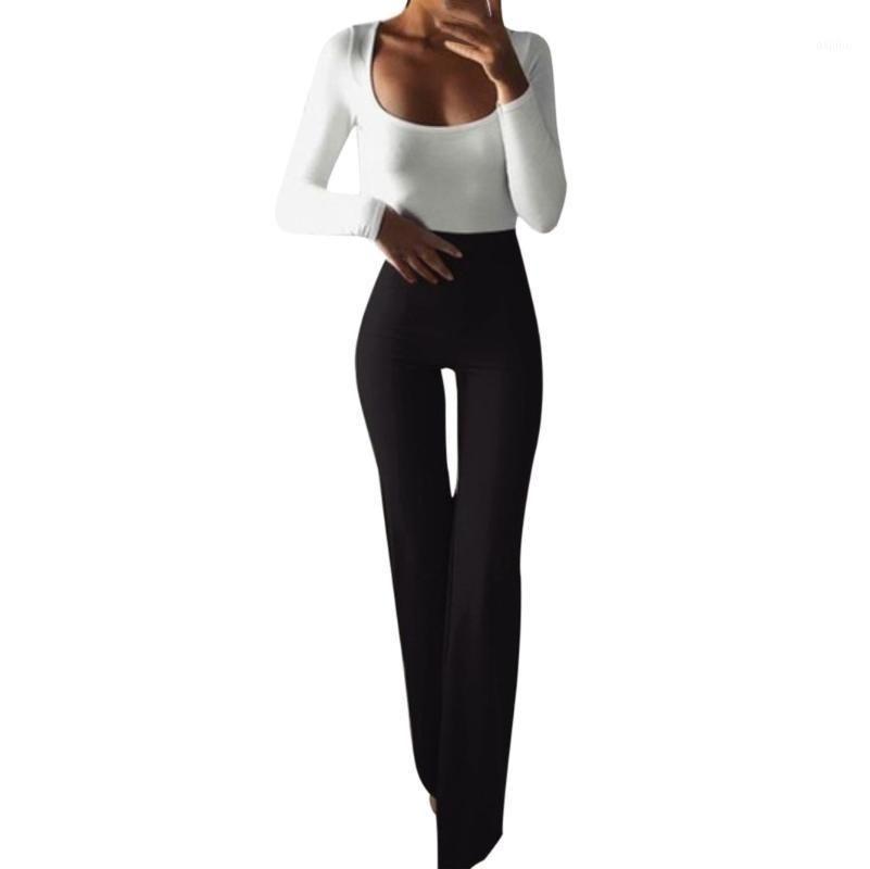 Pantaloni da donna Boho Style Leggings Black Leggings Slim Gym Abbigliamento Mujer Elastico Casual Pantaloni da donna Casual Push up Dropshipping # LR11