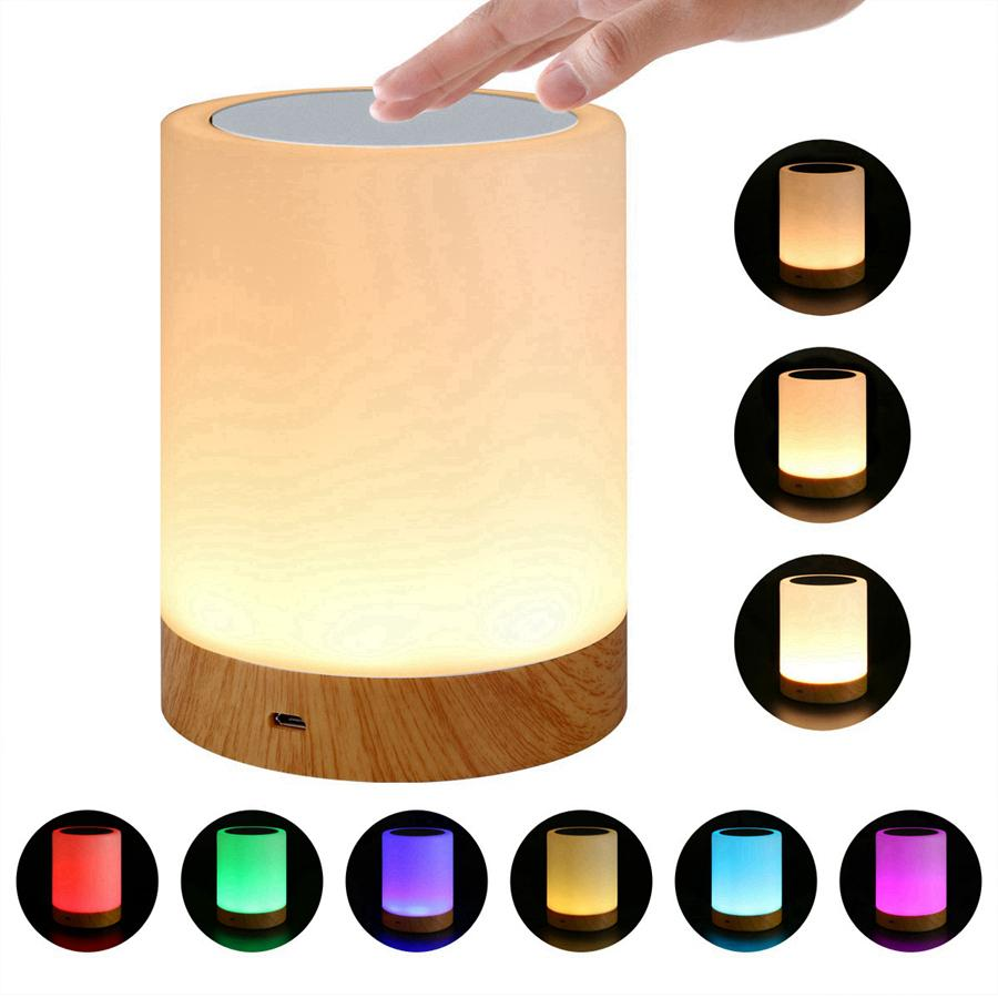 Lampe de chevet intelligente lampe LED lampe de table amitié Lit créatif de bureau