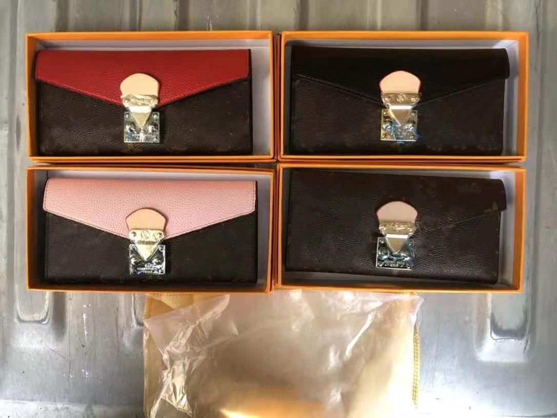 تأتي مع صفراء العلامة مربع مصمم بطاقة حامل محفظة رجل المرأة حامل البطاقة الفاخرة حاملات بطاقة جلدية محافظ سوداء محافظ مصمم محفظة