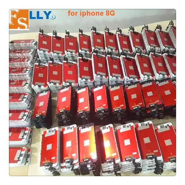 أفضل جودة شاشة LCD لفون 6S 6S زائد 7 7 زائد 8 8 زائد شاشة تعمل باللمس استبدال شاشة LCD محول الأرقام الجمعية