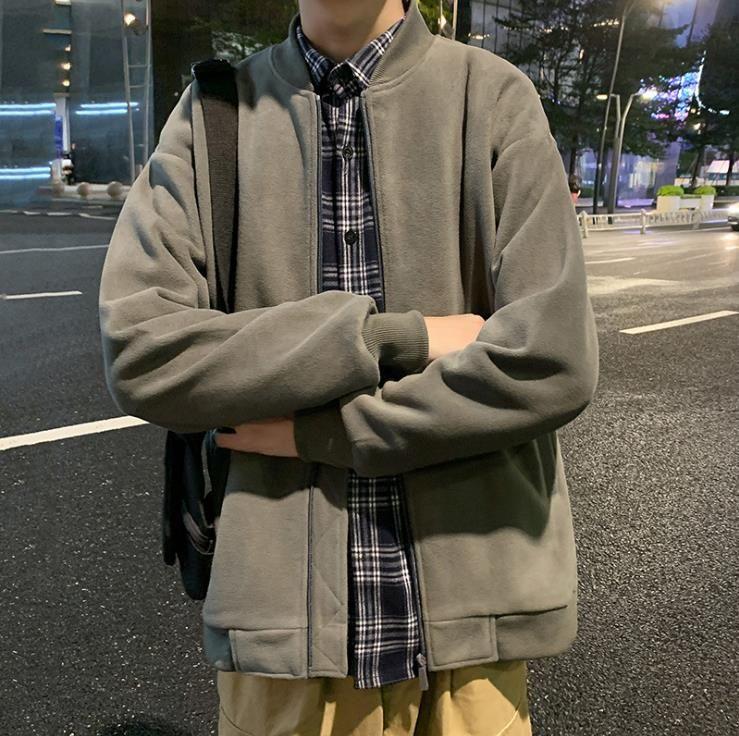Männer neue 2020 Frühling und Herbst koreanische Modemarke beiläufige Jacke der Männer Hong Kong Stil Strickjacke gut aussehenden Topcoat Mann