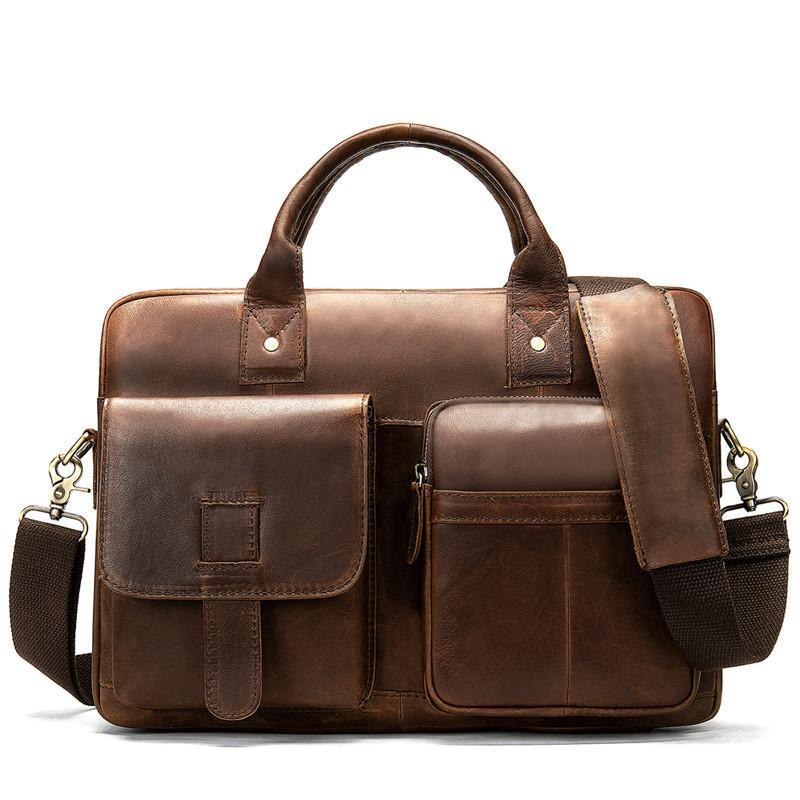 Сумки сумочка мужская 100% бизнес оригинальная кожаная сумка для ноутбука сумка мужская для мужчин Документ Порте портрета портфель офис SFKCD