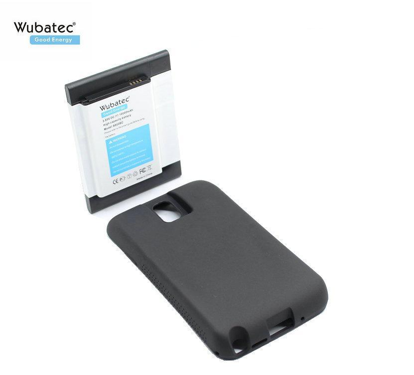 Wubatec 1x 10000mAh NFC B800BC prolongée Cache de la batterie + pour Samsung Galaxy Note 3 Note 3 N9000 N9002 N9005 N900S N900L N900K