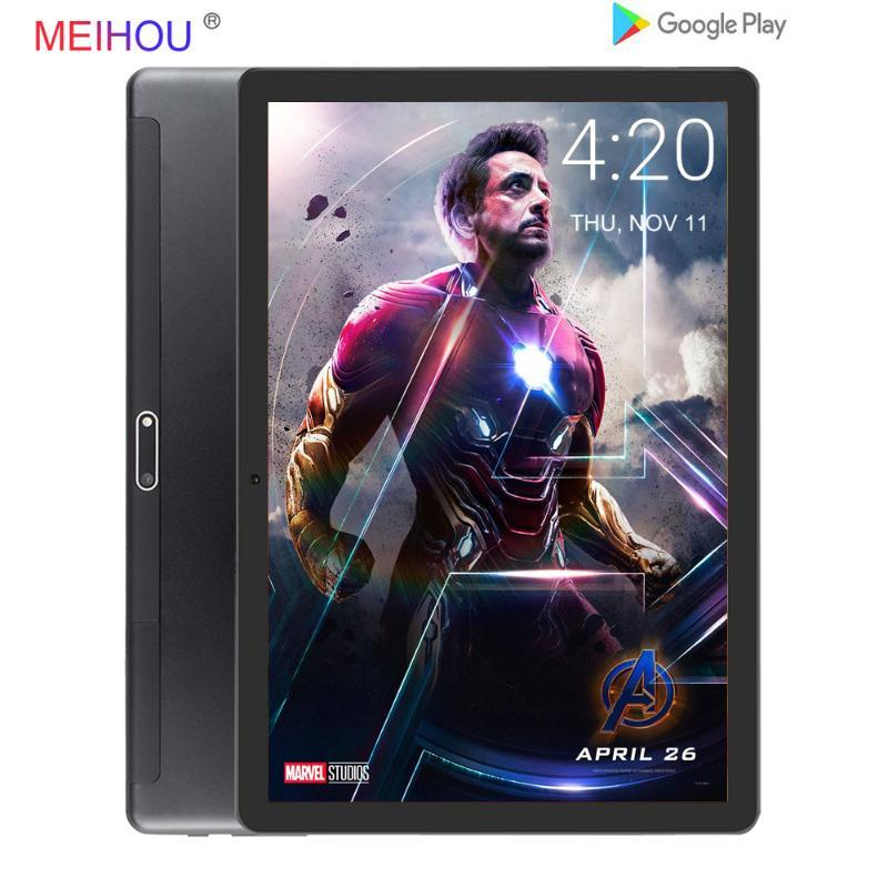 2020 NOVO 10 polegadas Tablet PC Bluetooth Car jogo GPS 2 + Tela 32GB ROM Quad Core HD IPS Dual Sim Card Phone Call Wifi + presentes