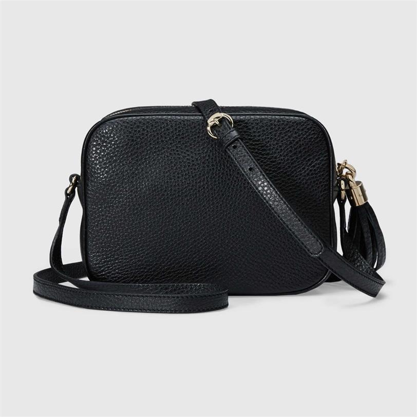 Portafoglio SOHO Disco Dco Camera Pochette Pochette FANNYPACK BAG SHOULER BAGS Pelle di lusso Crossbody Borse Designer 2021 Zaino Womens Handba BWDAN