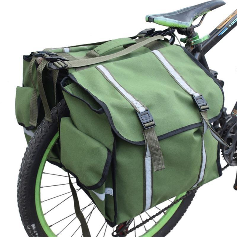 Sac vélo, ceinture réfléchissante, imperméable sac à dos, coffre de moto