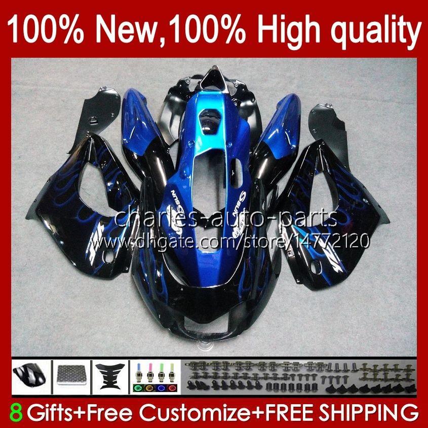 Bodys voor Yamaha Thunderace YZF1000R YZF-1000R 96 97 98 99 00 01 96HC.7 Blue Flames Hot YZF 1000R 02 03 04 05 06 07 1996 1997 2007 Kuip