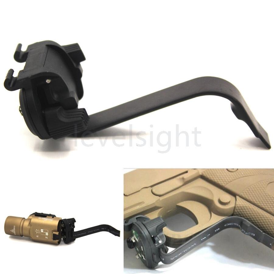 Interruptor 1911 Conjunto de iluminación X-Series X (x200 x300 x400) Linternas para control quirúrgico Accesorios de caza táctica