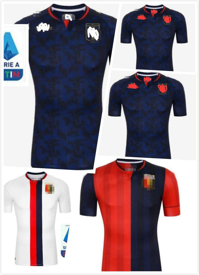 2020 Jersey 2021 Football Cricket Genoa 20 21 Pinamonti KOUAME Football Uniforme Adulte PANDEV SCHONE RADOVANOVIC Football Shirt Garçons Maillots