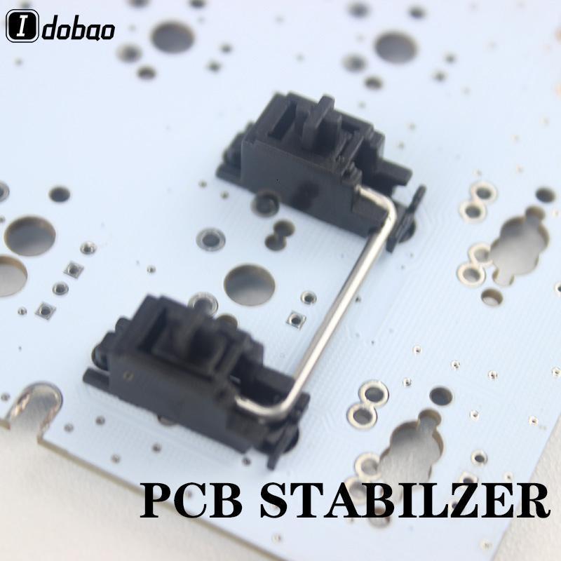Stabilisateur de PCB noir pour clavier mécanique personnalisé GH60 XD64 XD60 XD84 EEPW84 TADEA68 ZZ96 6.25x 2x RS96 87