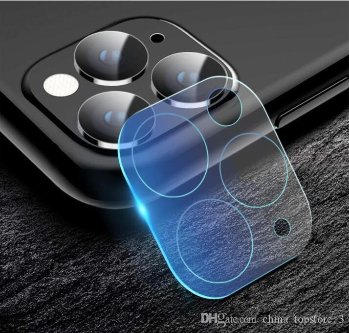 DHL 200pcs Back Camera Lens Tempered Glass For Iphone 11 Pro Max XR XS 7 8 Plus Protection Film Galss Protector Huawei Mate 30 Pro