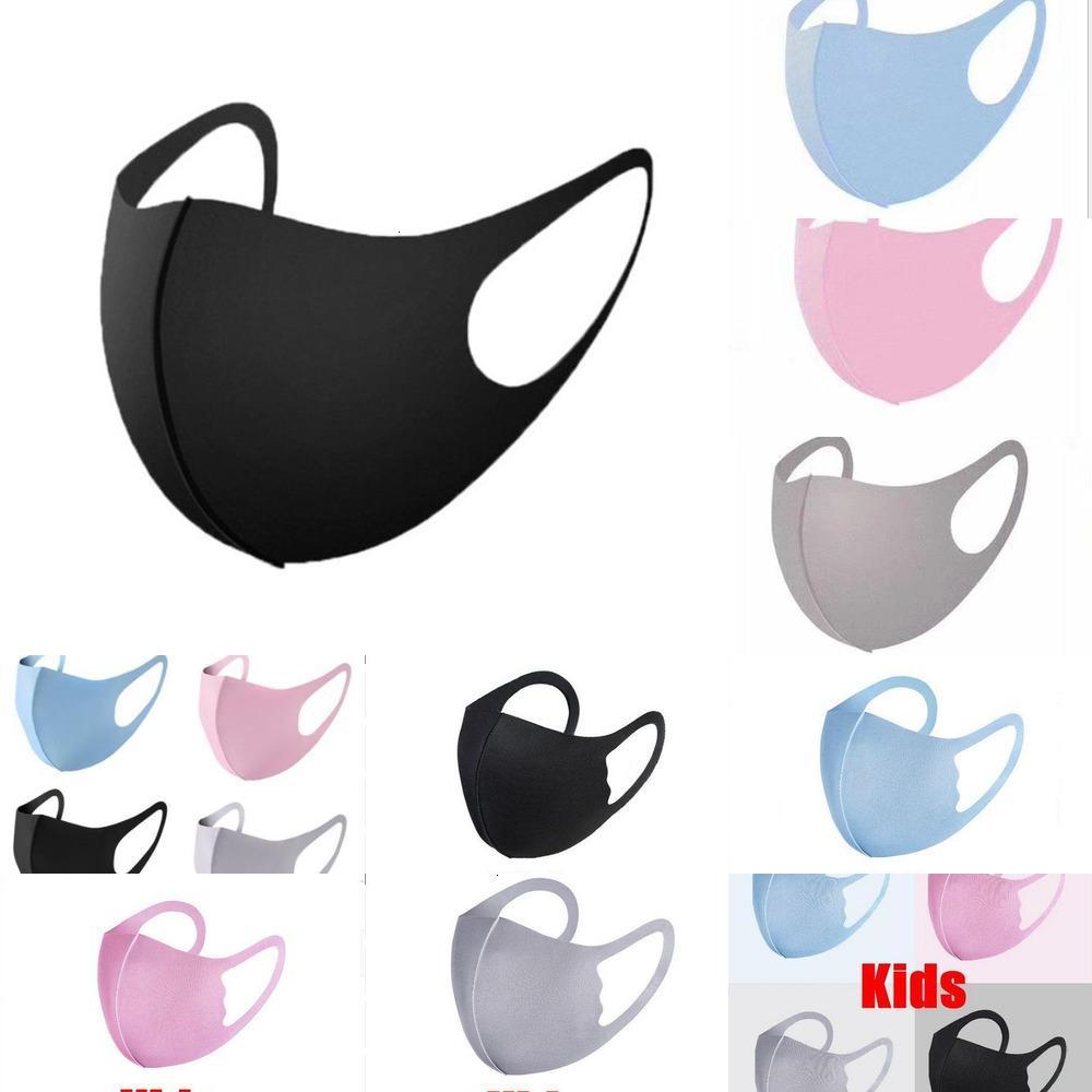 Disponibles Reutilizable Lavable Hielo Mascarilla Mascarilla Mascarilla Mascarilla Paquete Individual Paquete Diseñador Máscaras Para Adultos Niños Máscaras DHL Envío Gratis