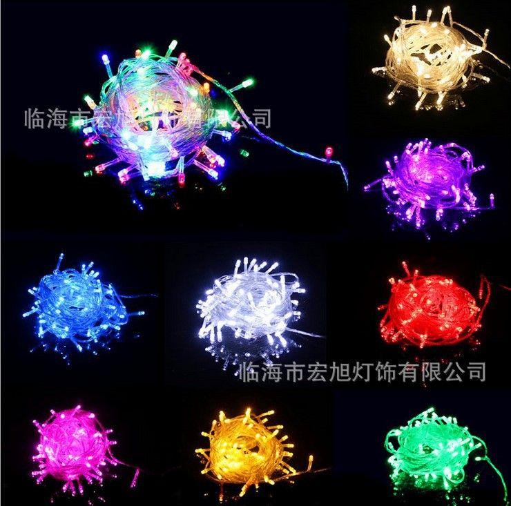 Impermeável LED Star Light Cordas 10 M 100 luzes LED estrelado Luzes do feriado Luzes de Natal Festivais Luz Decoração