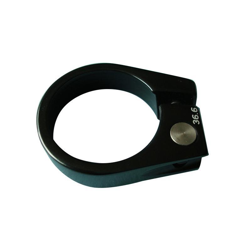 36,6 milímetros assento preto pós de liga de braçadeira de elevada resistência braçadeira bicicleta de tamanho especial do tubo de selim de bicicleta