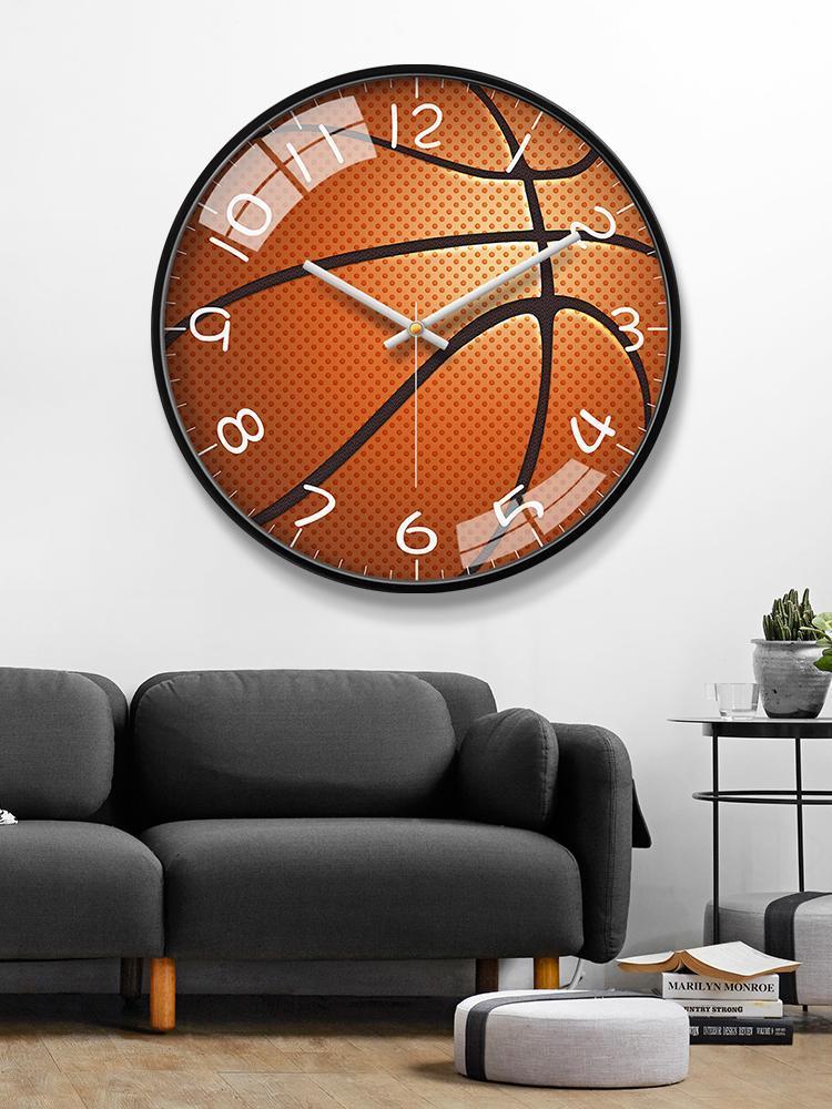 ساعات الحائط الكلاسيكية نوم ساعة تصميم أطفال بنين غرفة المعيشة الحديثة orologio da parete الإبداعية الصامتة ووتش EA60WC