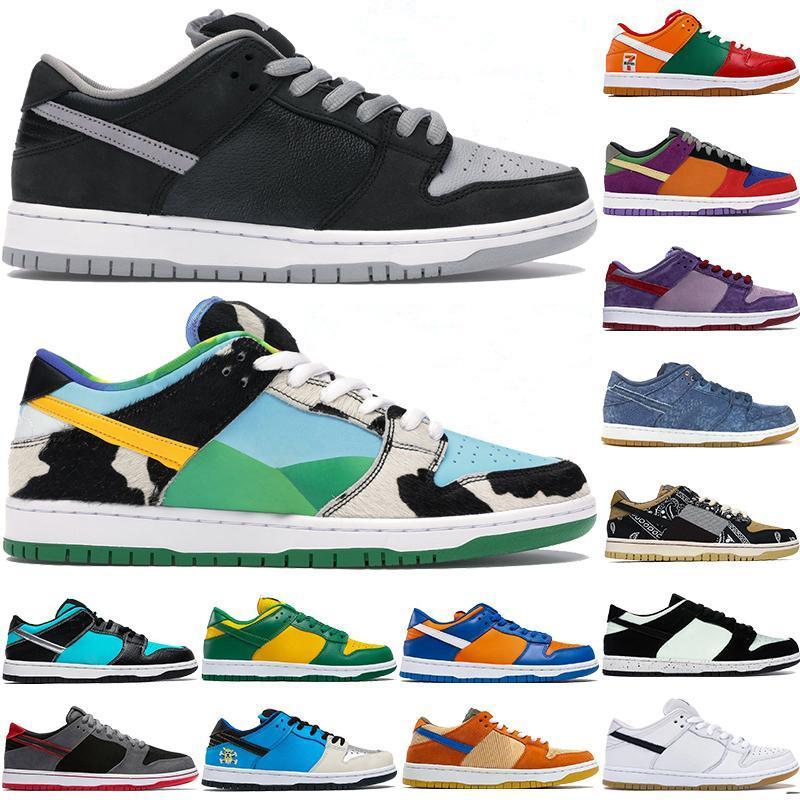 2020 Nike SB Dunk Low Chicago shoes Chunky Dunky Low Dunk Brazil Panda Pigeon scarpe da ginnastica sportive da uomo outdoor trainer Low Dunk shoes