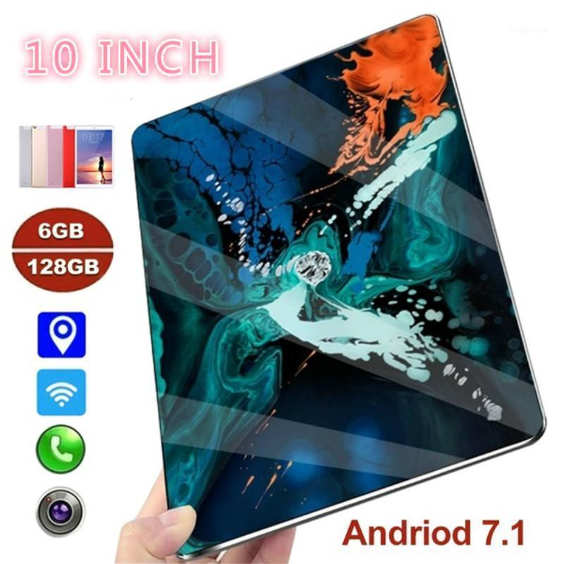Huanlingluo Tablet PC 2021 10 Inch Dual SIM 4G Phone WIFI Andriod 9.0 Ten Core With 6G And 128GB Memory Pad1