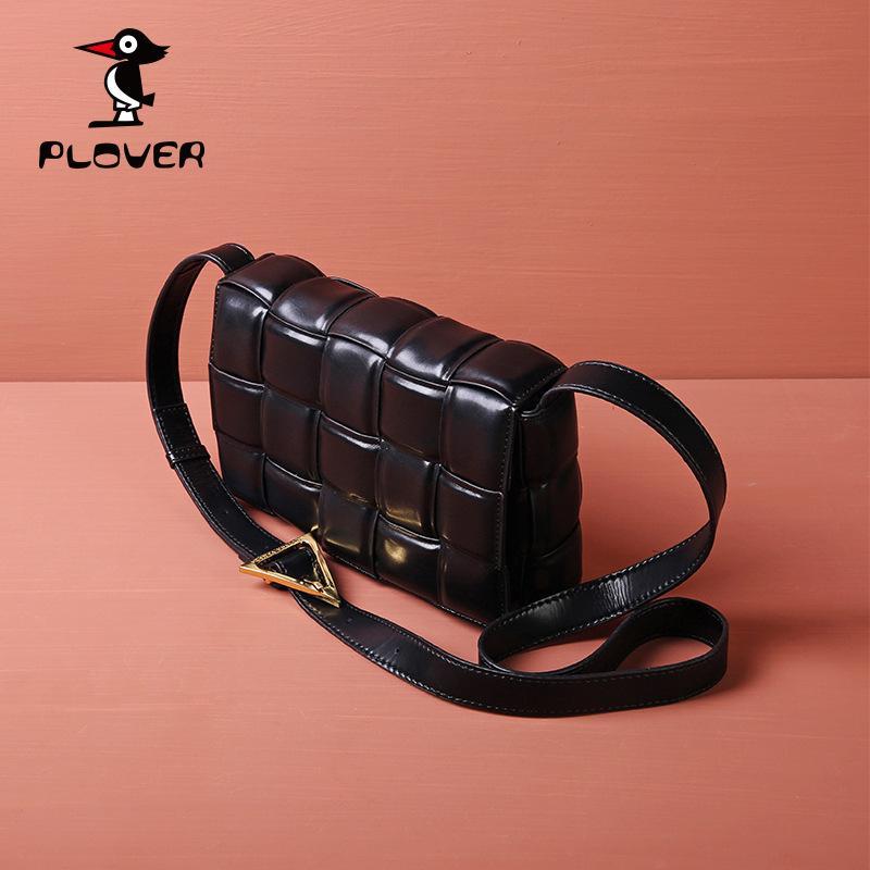 Moda Vücut Metal Zincir Kılıfı Siyah Çift Flaps Moda Kadınlar Hakiki Deri Omuz Çantaları Tasarımcı Makaron Yastık Çanta Çantalar Çanta Çanta