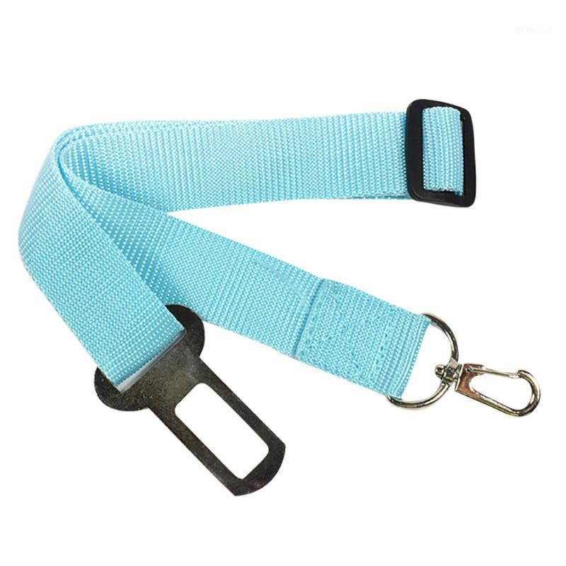 New Adjustable Vehicle Car Dog Pet Cars Safety Durable Seat Belt Nylon With Harness Restraint Lead Travel Leash Accessory 10Jun11