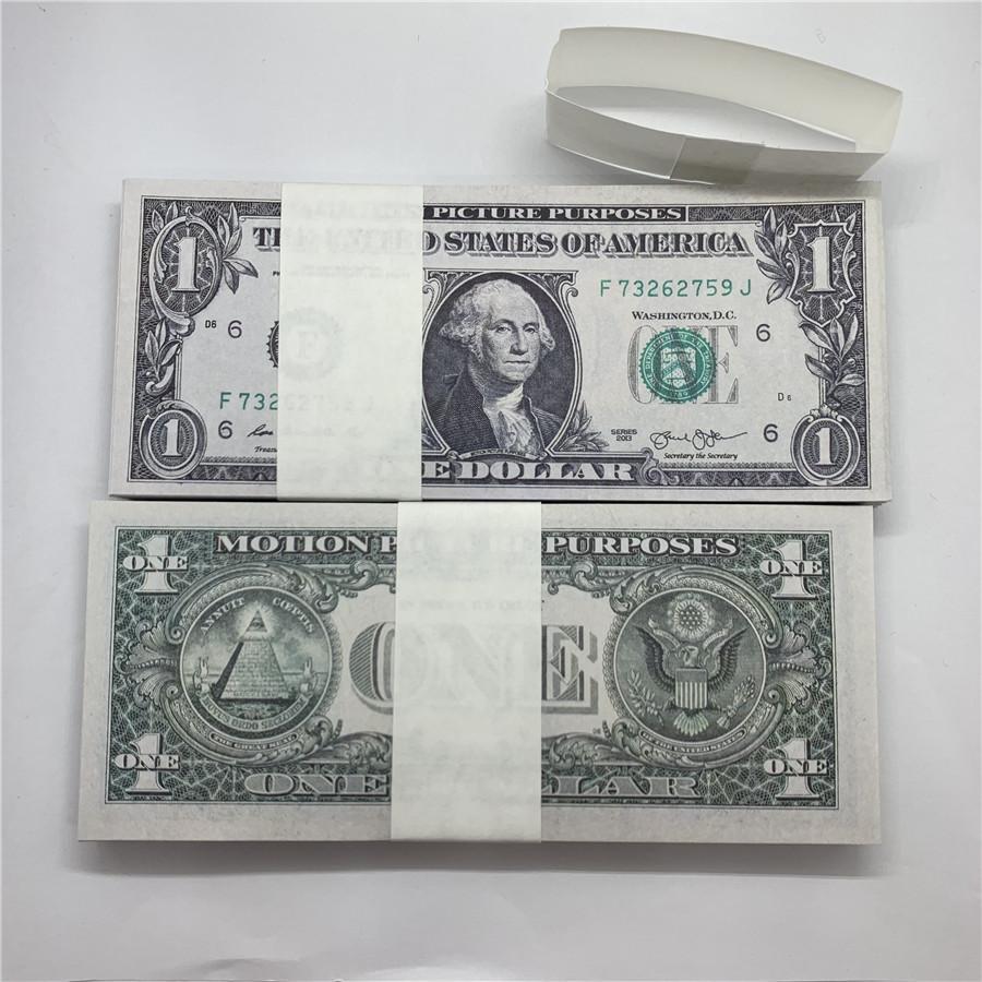 Dollar Währung Währung OEDUD US US Paper New Requisiten Kopieren Papier Direktwährung Vertriebsmarke Fabrik 1 Spielzeug Iawwu