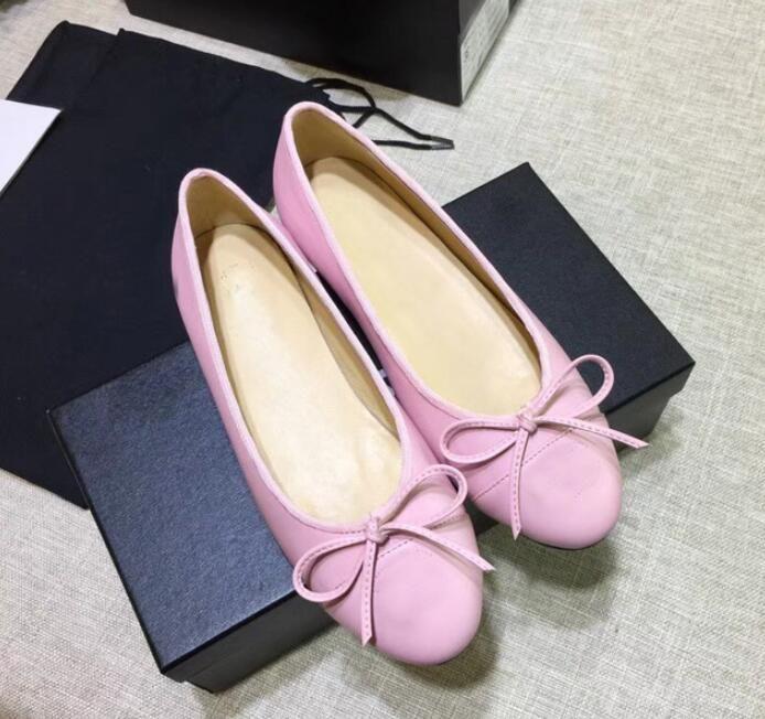 Tek ayakkabı bale düz rahat yönlü renk açık ağız tatlı yay eşleşen İlkbahar ve sonbahar 2021 yeni kadın ayakkabıları pota ayakkabı kabak