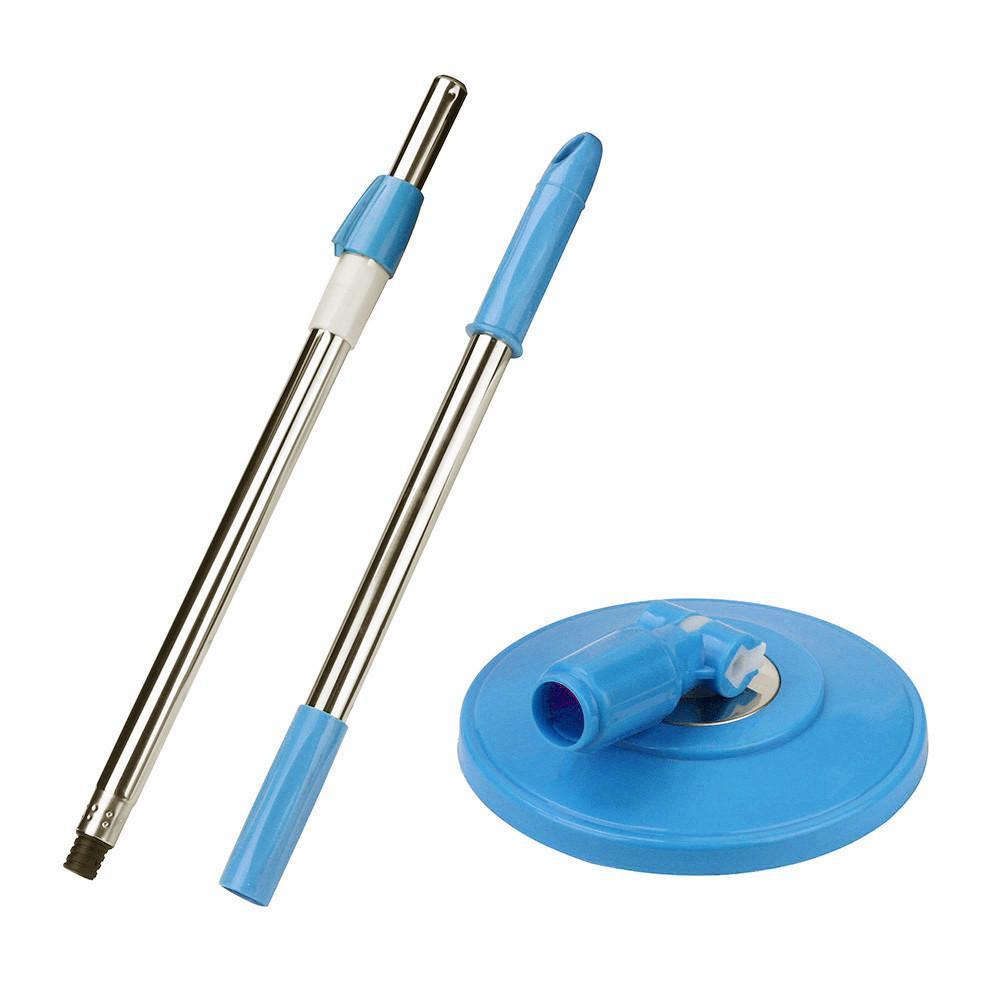 1 шт. Спин моп ручка полюса замена для пола MOP 360 без педали для ног версия домашнего пола чистящий скребок для домашнего офиса # 15 LJ201130