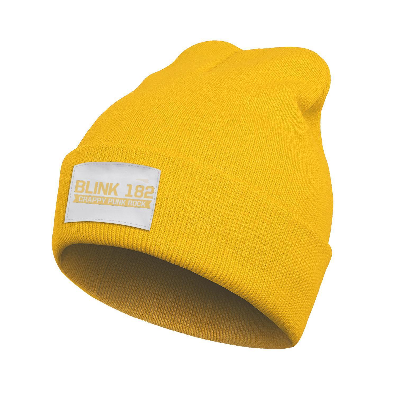 Unisex Fashion Beanie Skull Hats Blink 182 crappy punk rock Winter Ski crochet Knitted Cap