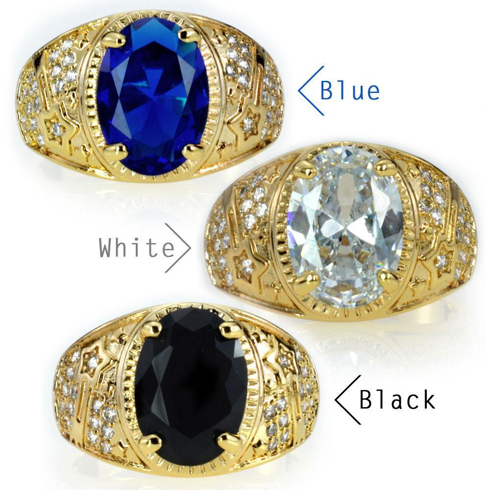 Herren-18K Gold gefüllt WEDDING ENGAGEMENT Ringband (R283a) Größe 8 9 10 11 12 13 14 15