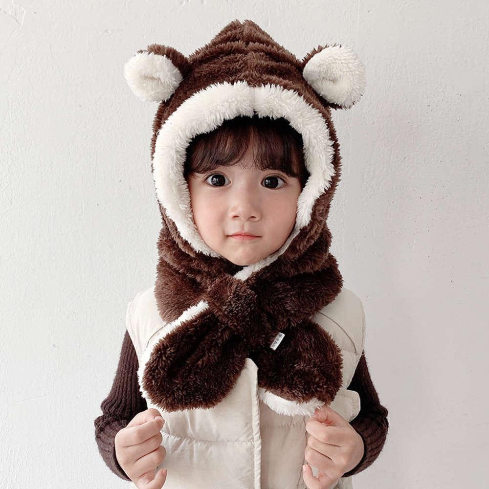 chapeau fille mignon automne super hiver baby garçon chaude bouchon oreille tondeuse