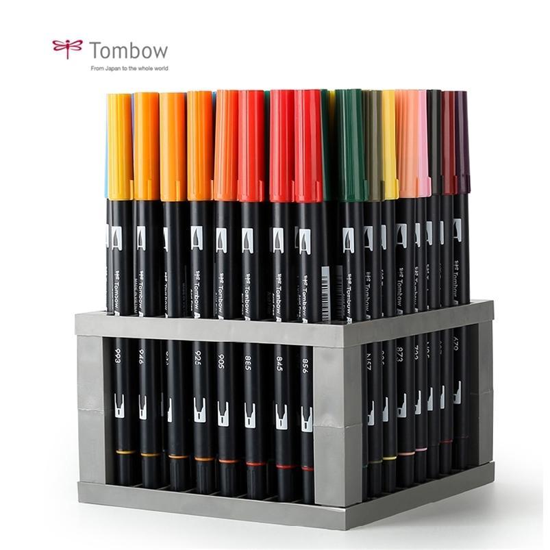 Japón Tombow ABT Dual Water Brush Pen Fine Tip PROFESS PROFESSIONAL CALLIGRAPHYART FOR PARA LA TARJETA DE REGUSTRO DE BULLET Fabricación de tarjetas 201222