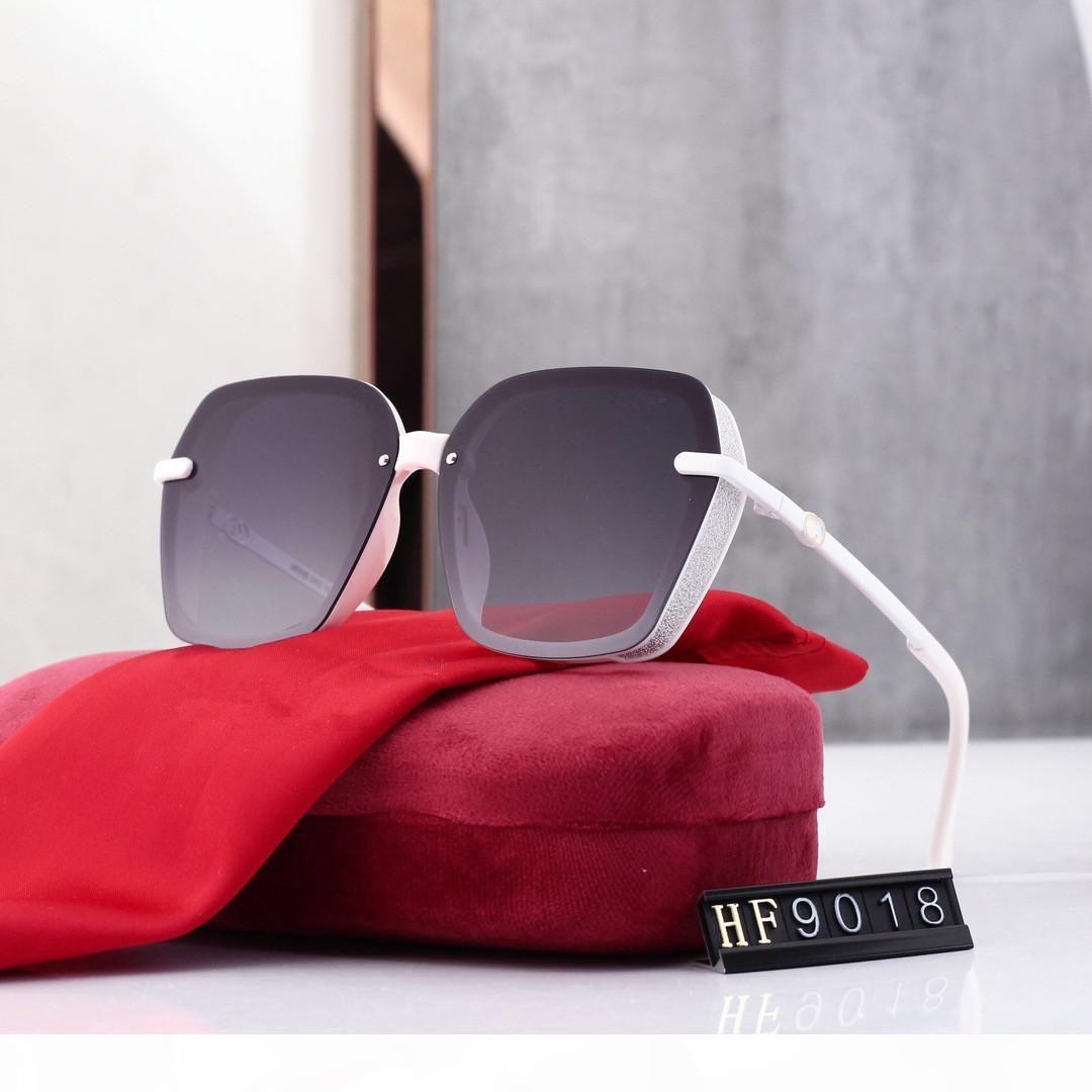 NOUVEAU 2020 Femmes Sunglasses de tempérament de la mode Femme et Mens de luxe # 160; marque 1g Sunglasses 1gUv400
