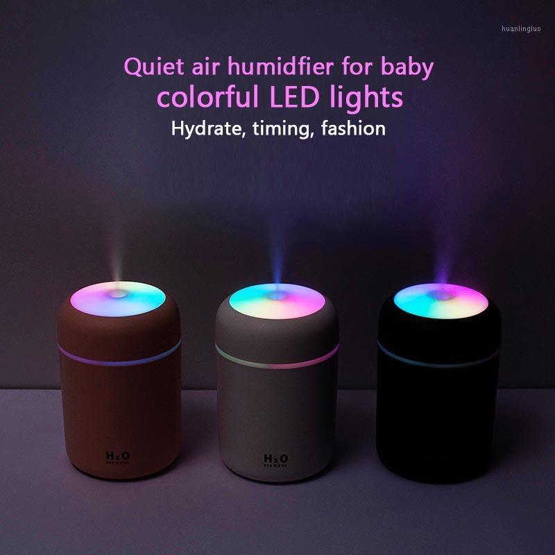 Humidificateur à brouillard de brouillard à ultrasons CE Humididus de refroidisseur d'eau Humidificateur d'eau Mini humidifiant la brume colorée Nano Spray pour voiture bébé lit1