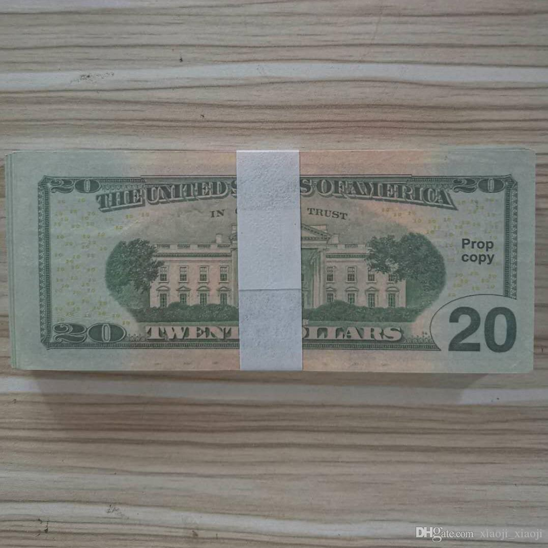Étape des enfants Dollar Dollar Play Special Movie Toys Adulte Jeu d'adultes Bar Money jeu Pound Money 05 NNFTQ