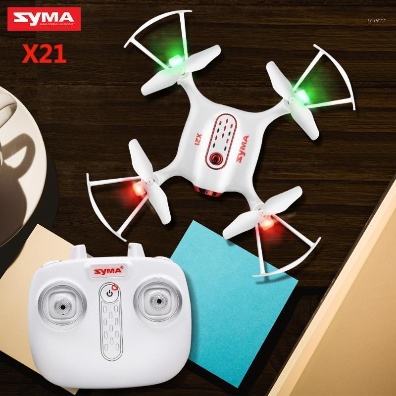Syma X21 Drone RC Quadcopter 2.4G 4CH 6-Aixs Gyro Mini Dron Aircraft senza telecamera Telecomando Elicottero Bambini giocattoli1