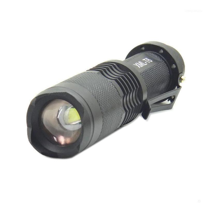 Torce Torce TARCHES T6 18650 Batteria 1200 Lumens Flash Light 5 Modalità di commutazione Salvataggio di pattugliatura della cavering Torch1